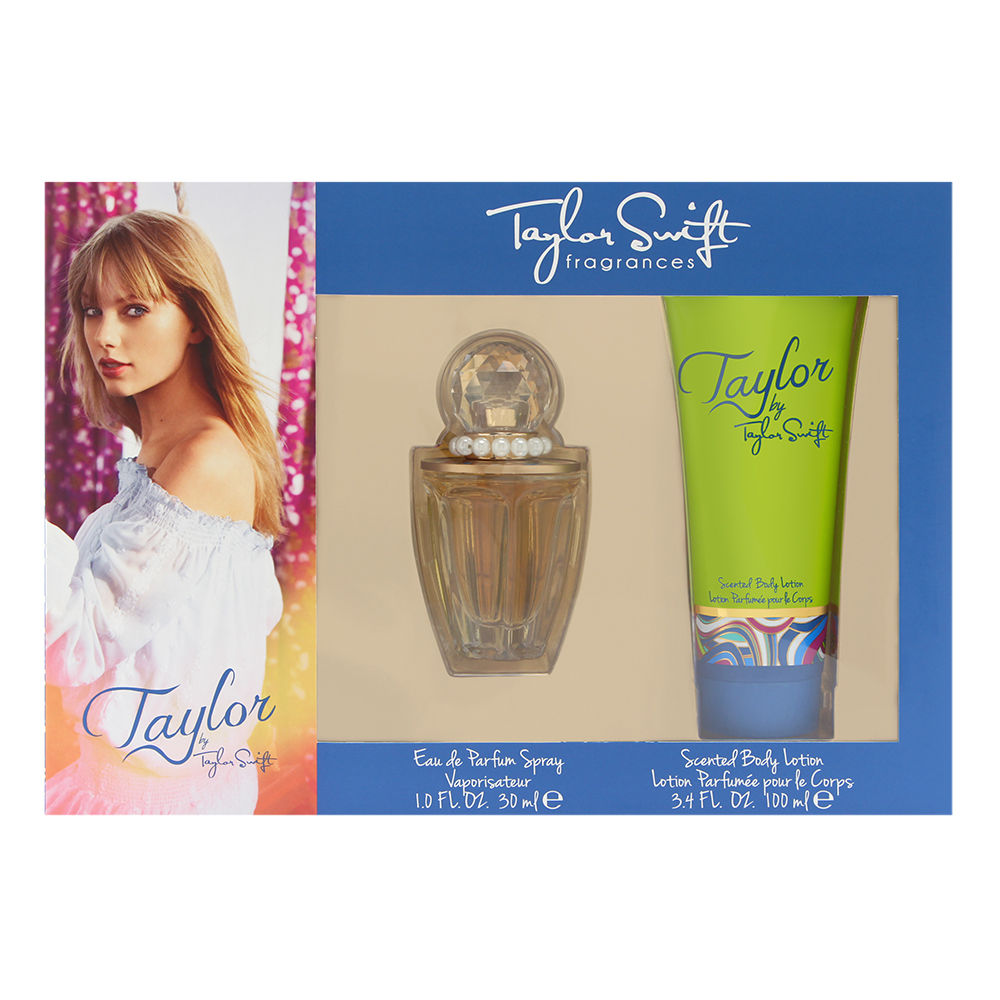 Taylor by Taylor Swift for Women 2 Piece Set Includes: 1.0 oz Eau de Parfum Spray + 3.4 oz Scented Body Lotion