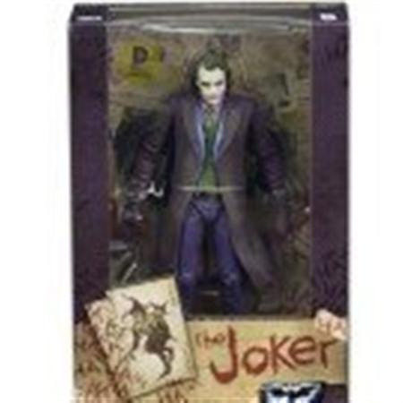 NECA, DC Comics, The Dark Knight Movie Heath Ledger The Joker Action Figure, 7 - Joker Heath Ledger Makeup