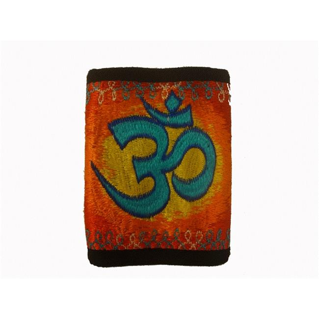 Visu Craft H106COM Buddhism Symbol Cotton Mens Wallet