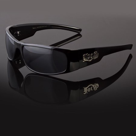 NEW MEN DARK LENS GANGSTER BLACK OG SUNGLASSES LOCS BIKER (Bikers Glasses)