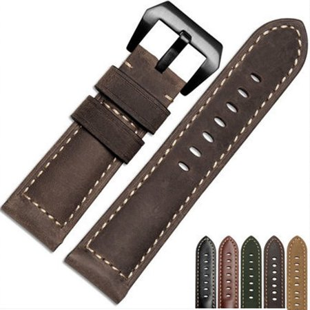 Replacement Luxury Leather Band Strap For Garmin Fenix 5X GPS Watch CO