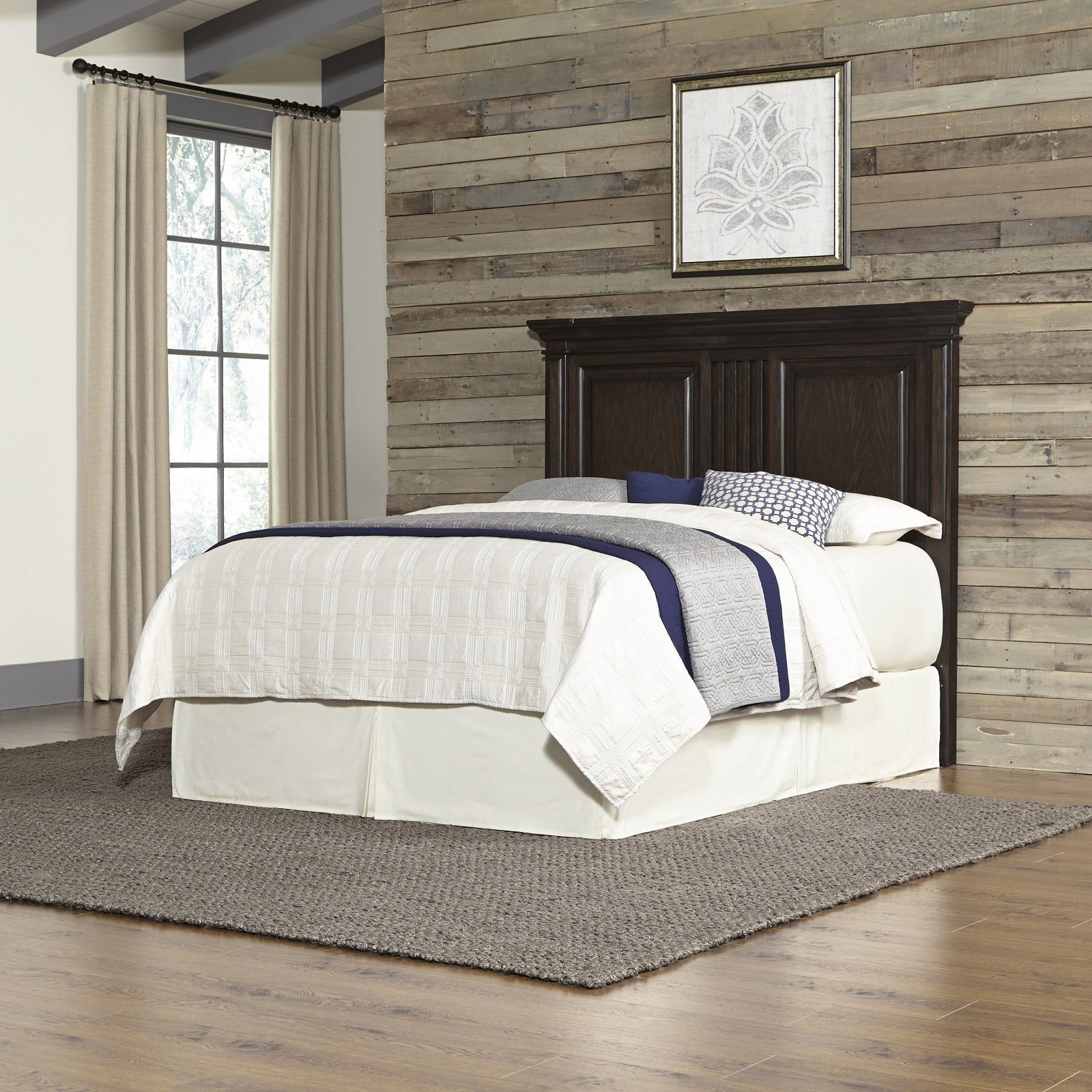 Home Styles Prairie Home King/California King Headboard