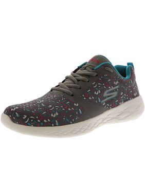 7e6e7e0a9f47 Product Image Skechers Women s Go Run 600-Experience Charcoal   Multi Ankle-High  Running Shoe -