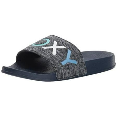 f6d334c49dd Roxy - Roxy Women s Slippy Textile Slide Sandal Sport - Walmart.com