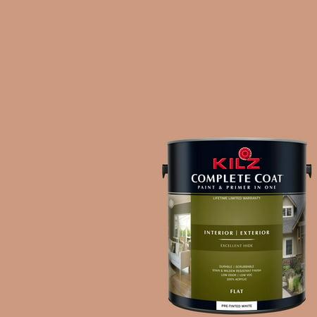 Mamey Shake KILZ COMPLETE COAT Interior Exterior Paint Primer in One L
