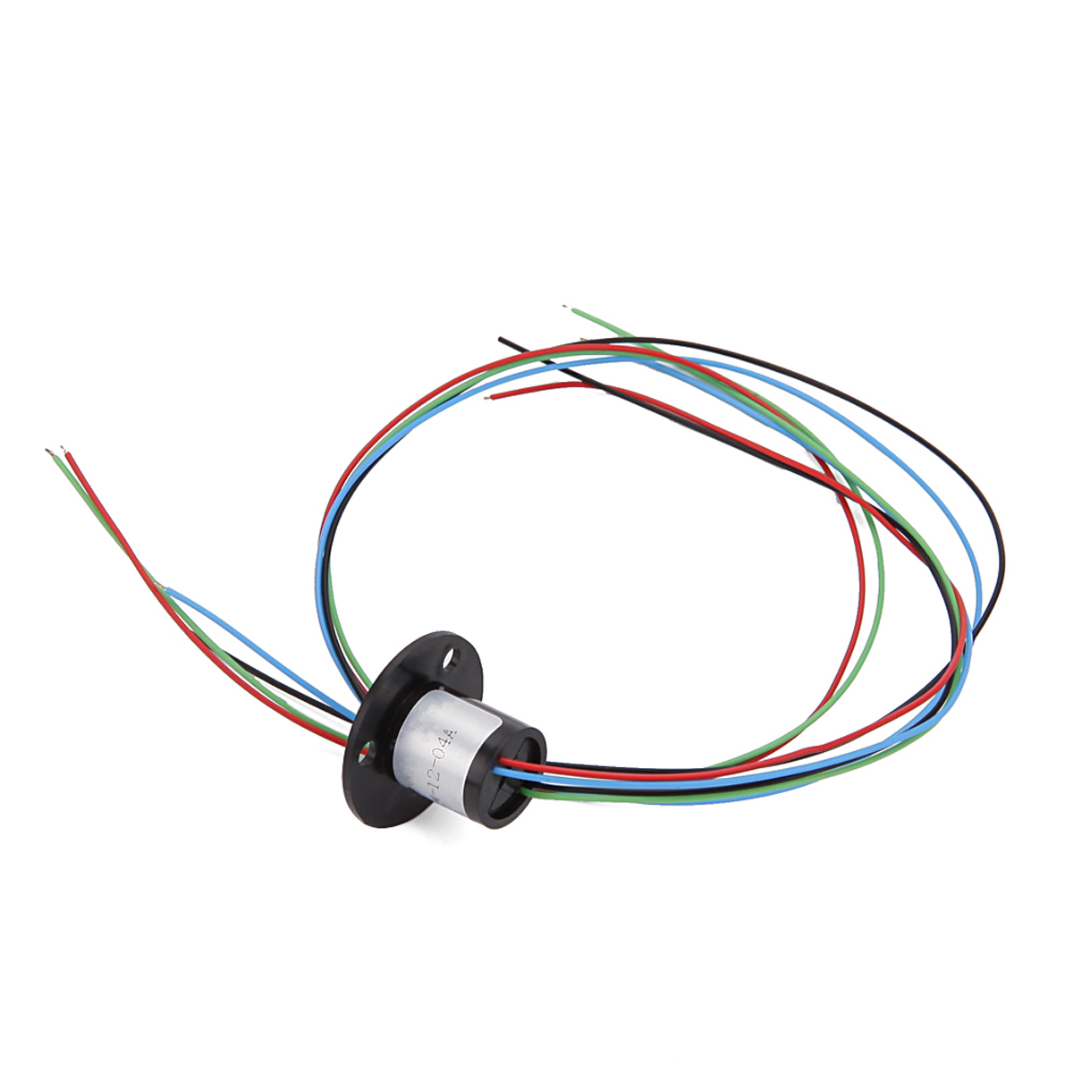 1.5A 240V VC / DC 250rpm Micro Capsule Slip Ring with 4 Wires for Monitor and Robot