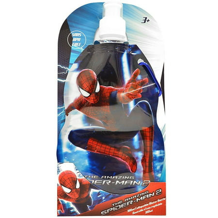 The Amazing Spider-Man 2 Collapsible Water Bottle 380ml Sans BPA