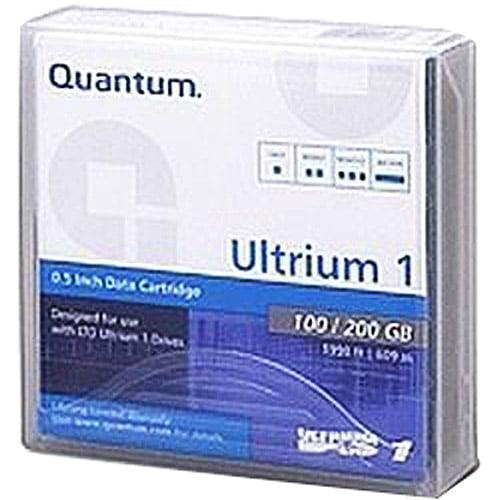 Quantum MR-L1MQN-01 Ultrium LTO-1 Data Cartridge