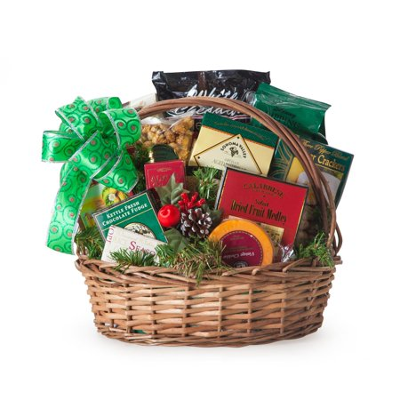 The Bountiful Holiday Gourmet Gift Basket - Walmart.com