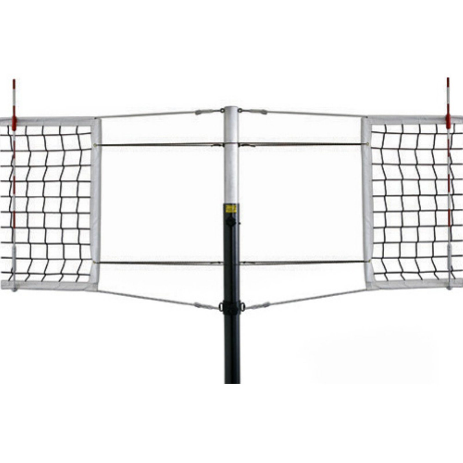 Galaxy Titanium Side-by-Side Double Court Competition Volleyball Set