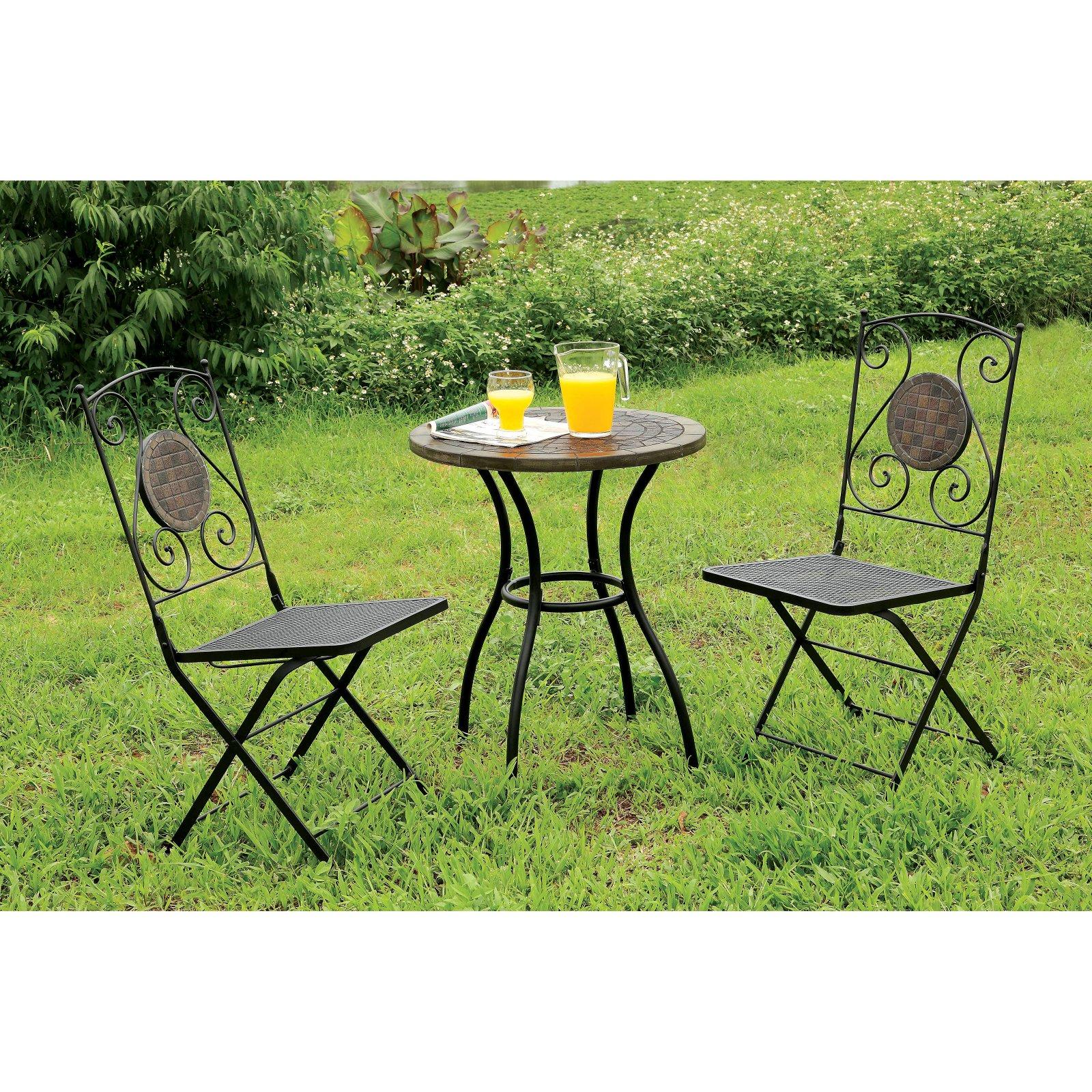 Furniture of America Corsa Bistro Patio Table