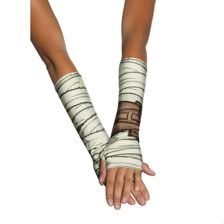 Star Wars Rey Halloween Costume Accessory Glovelettes (Halloween Costumes Marina Del Rey)