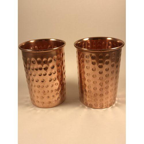 Ebern Designs Oliveira 12 oz. Copper Moscow Mule Mug (Set of 2)