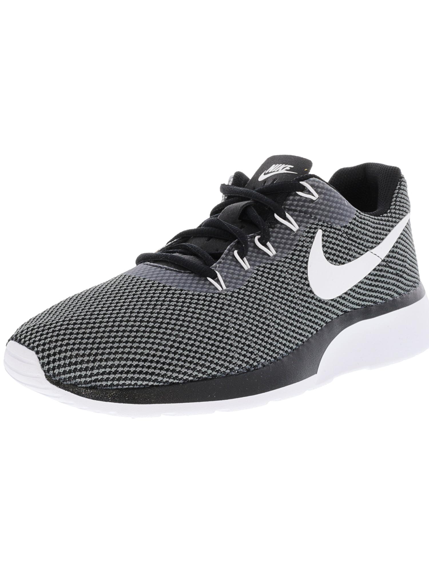 f9675b37d015 Nike Men s Tanjun Racer Dark Grey   White-Black Ankle-High Running Shoe -  11.5M