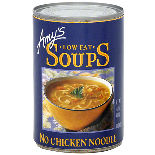 Amy's No Chicken Noodle Soup, 14.1 oz (Pack of 12)