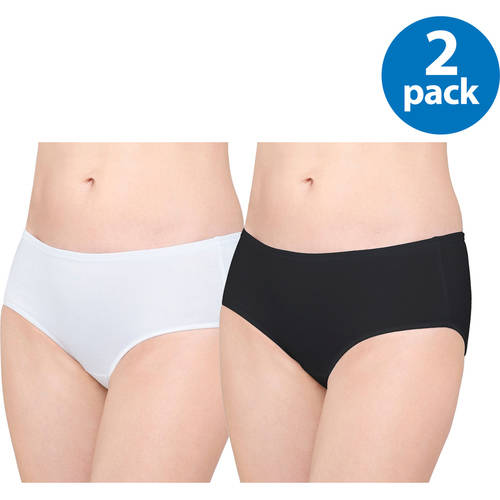 Panty Cotton Stretch Hipster, 2 Pack
