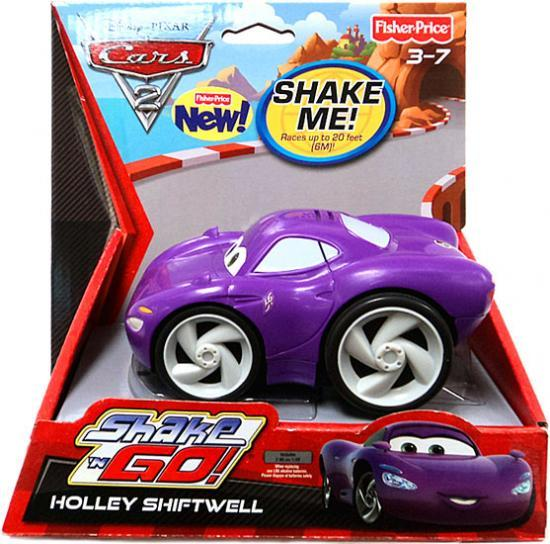 Fisher Price Disney Cars Cars 2 Shake 'N Go Holley Shiftw...