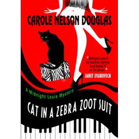 3 Piece Zoot Suit - Cat in a Zebra Zoot Suit - eBook