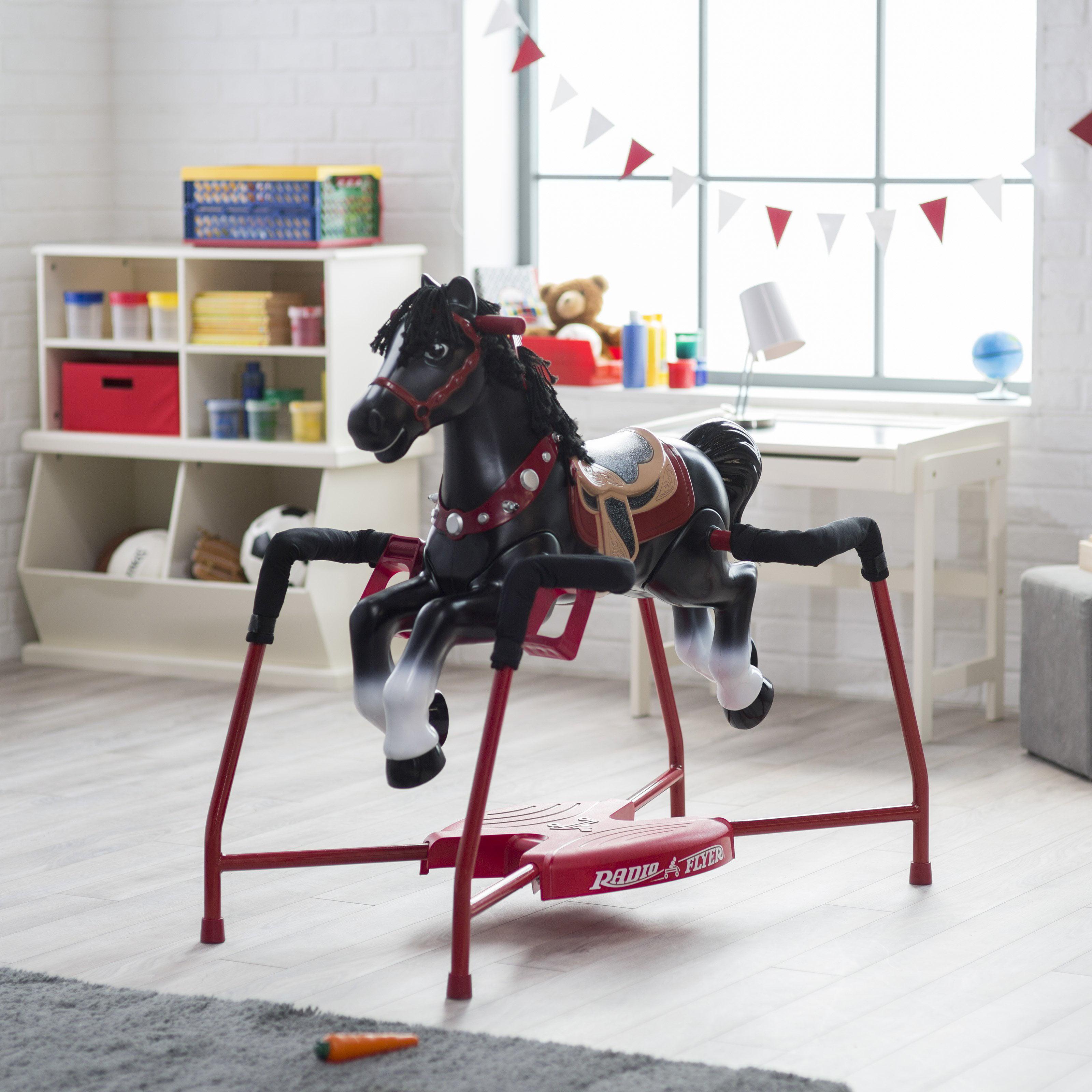 Radio Flyer Duke Interactive Riding Horse by