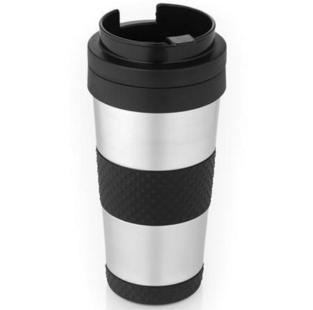 Thermos Nissan THERMOS NISSAN JMH400P6 14-OZ STAINLESS STEEL VACUUM INSULATED TRAVEL TUMBLER THRJMH400P6