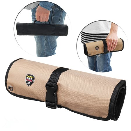 10/21 Pockets Chef Knife Bag Roll Bag Carry Case Kitchen Portable Storage Knifes For Home/Kitchen Dining Knife Utensils (Leather Chef Knife Roll)