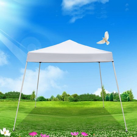 10'x10' Ez Pop Up Canopy Commercial Canopy Tent, Portable Pop-Up Waterproof Gazebo Folding Canopy Tent, Commercial Instant Shelter Canopy Tent with Carrying Bag for Home Party beach, S10284