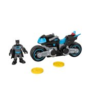 Imaginext DC Super Friends Bat-Tech Batcycle Batman Motorcycle Set