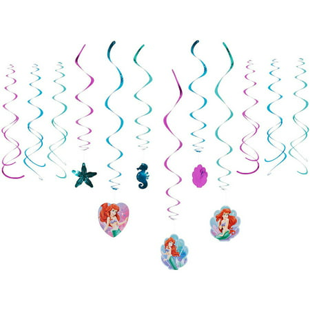 The Little Mermaid Hanging Party Decorations - The Little Mermaid Party Theme