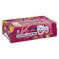 Sanpellegrino Pomegranate and Orange Italian Sparkling Drinks, 11.15 fl oz. Cans (24 Count)