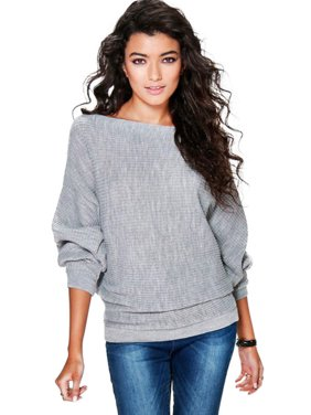 d26e5d8a0bd Product Image Women Casual Batwing Sleeve Sweater Knitwear Pullover Tee  Shirts Jumper Tops
