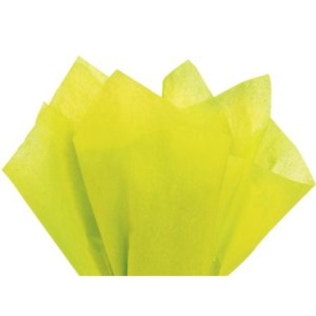48 Large LEAF GREEN Gift Wrap Pom Pom Tissue Paper 20x30 (Tissue Paper Leaves)