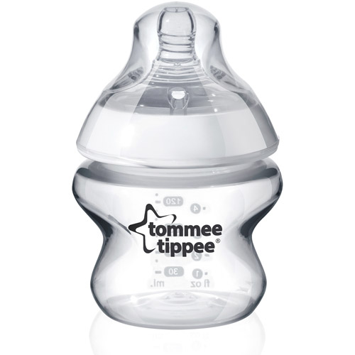 Tommee Tippee Closer to Nature 5-Ounce Baby Bottle, BPA-Free