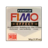 Fimo Effect Clay 57gm Translucent White