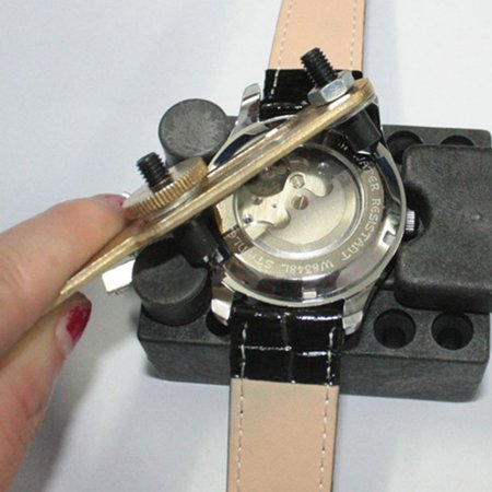 how to open back of watch to change battery