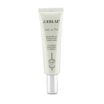 Guerlain Blanc De Perle UV Shield Brightening Pearl Perfection SPF50/PA+++ (New Packaging) Leaders, Insolution, Aquablend Oil Pocket Mask, Moisture, 1 Mask, 27 ml(pack of 1)