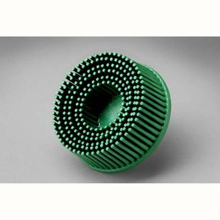 3m 2' Radial Bristle Discs - Scotch-Brite Roloc Bristle Disc, 2 in x 5/8 Tapered 50