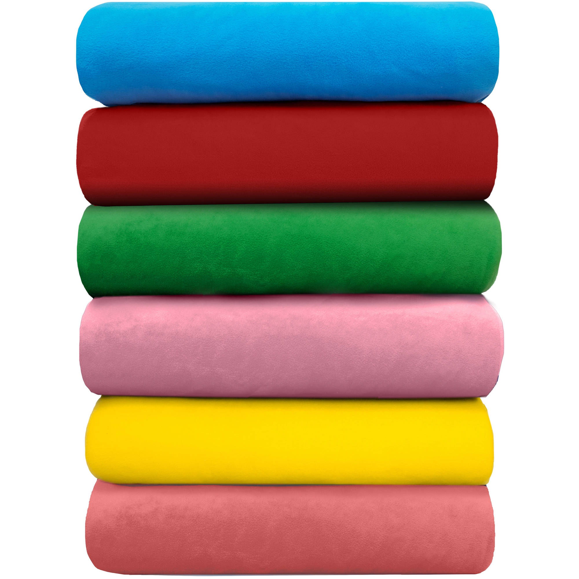 "Anti-Pill Solid Color Fleece Fabric, 2 Yard Cut, 60"" wide"