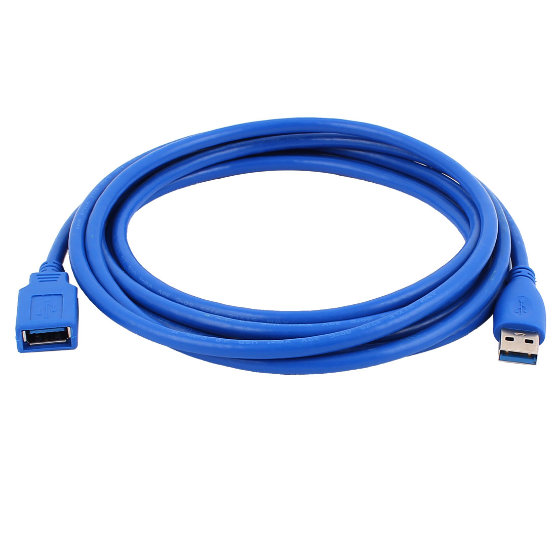 3Meters 10Ft SuperSpeed USB 3.0 Type A Male to Female Data Extension Cable Blue