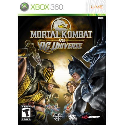 Mortal Kombat vs. DC Universe (Xbox 360) Midway, 31719300747