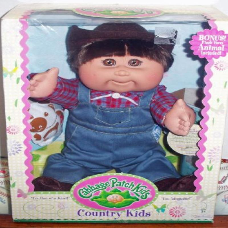 Cabbage Patch Kids Country Kids Caucasian Boy by Jakks Pacific by