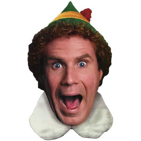 American Greetings Elf: Die Cut Box of 12 Funny Christmas Cards