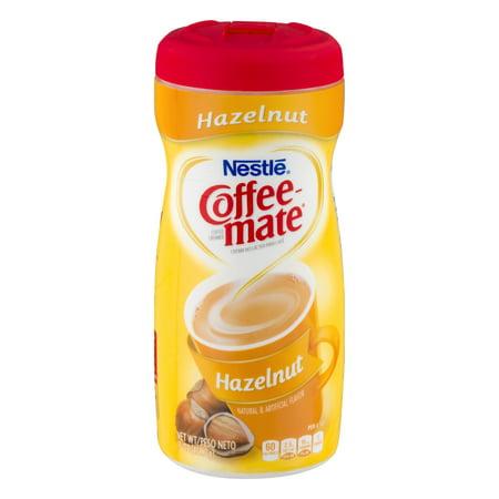 Nestle Coffeemate Hazelnut Powder Coffee Creamer 15 oz. Canister