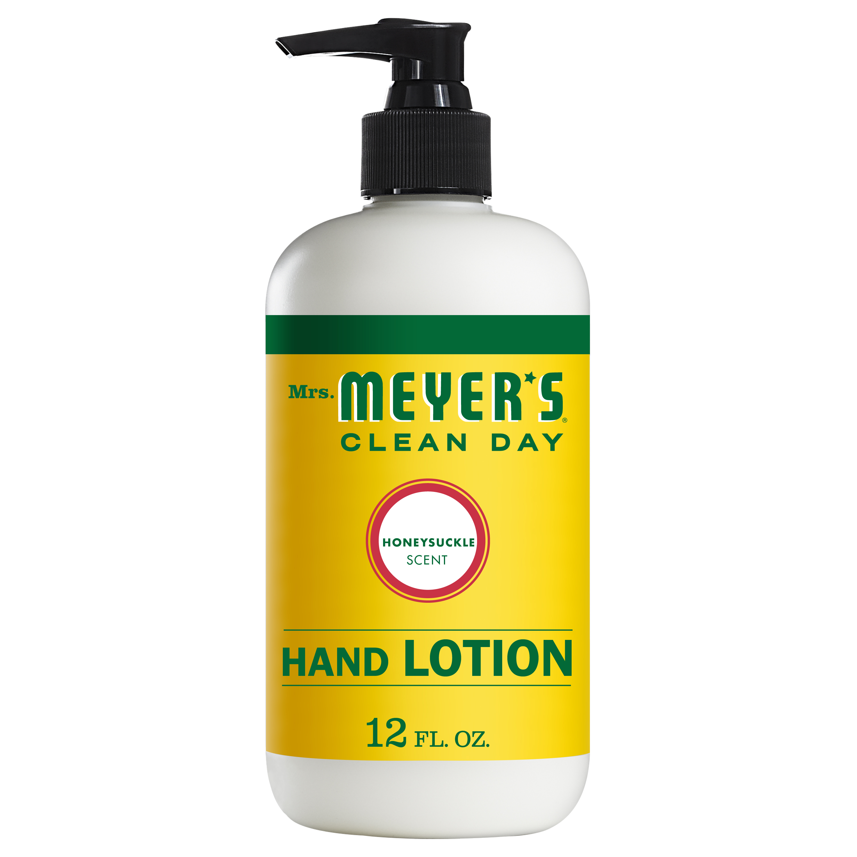 Mrs. Meyer's Clean Day Hand Lotion, Honeysuckle Scent, 12 ounce bottle