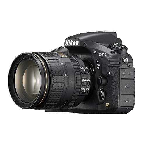 Nikon D810 FX-format Digital SLR w  24-120mm f 4G ED VR Lens by Nikon