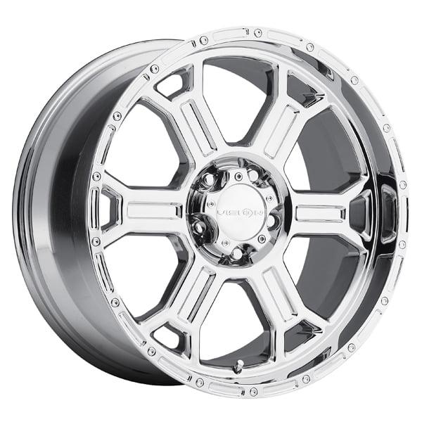 Vision 372 Raptor 18x9.5 8x170 +18mm Chrome Wheel Rim