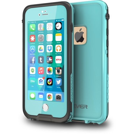 finest selection d9836 349df CellEver iPhone 6 / 6s Case Waterproof Shockproof IP68 Certified SandProof  SnowProof Full Body Protective Cover Fits Apple iPhone 6 and iPhone 6s ...