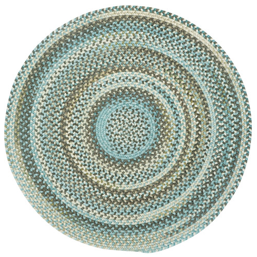 Capel Kill Devil Hill 0210 Braided Rug - Tan Hues