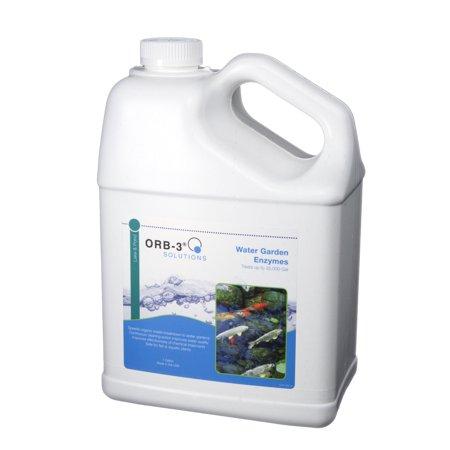 - Orb-3 Lake & Pond Enzymes (Water Gardens, 1-Gallon Jug)