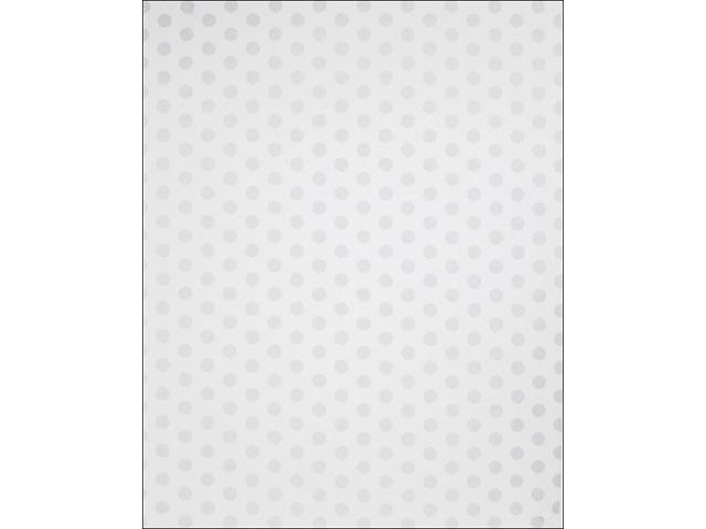 AMC Poster Board 22x28 Dots White by We R Memory Keepers