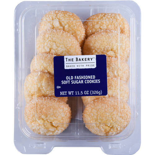 The Bakery Old Fashioned Soft Sugar Cookies, 11.5 oz, 10 Count